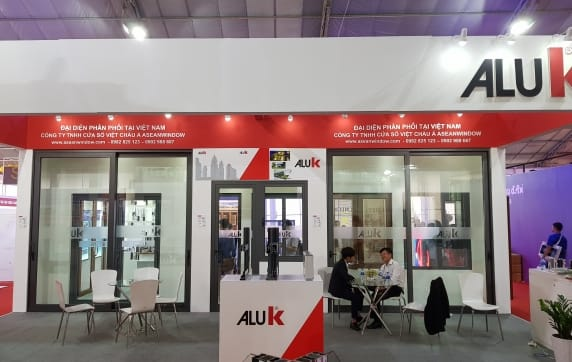 AluK present at International construction expo in Vietnam