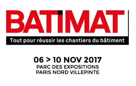 Join us at Batimat 2017
