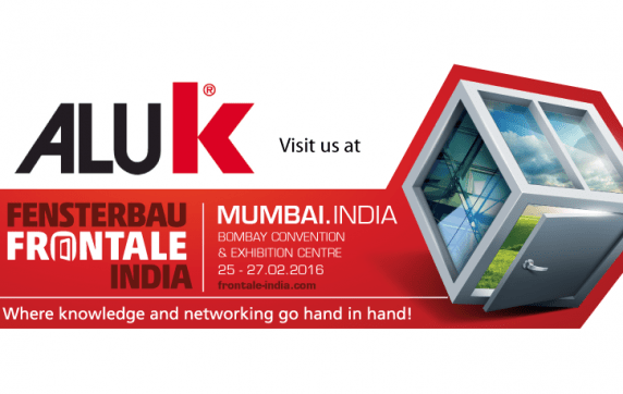 AluK : Platinum Sponsor at Fenesterbau Frontale India