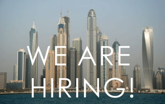 Join our team in Dubai!